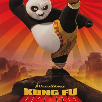 Kung Fu Panda 11x17 Movie Poster (2008)