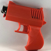 Bic Lighter Case Handgun
