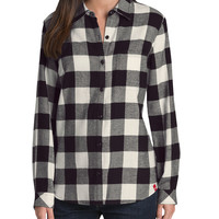 Women's Long Sleeve Plaid Shirt | Dickies