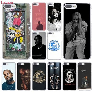 Lavaza Kanye Omari West Hard Phone Case for Apple iPhone XR XS Max X 8 7 6 6S Plus 5 5S SE 5C 4S 10 Cover 7Plus 8Plus Cases
