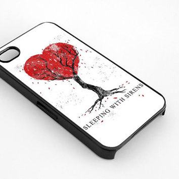 Sleeping With Sirens design for iphone 4/4s case, iphone 5/5s/5c case, samsung s3/s4 case cover