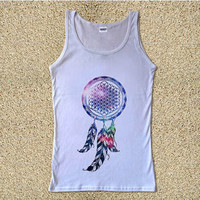 Bring Me The Horizon Dream Chatcher  for Tank Top Mens and Tank Top Girls