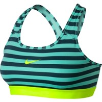 Nike Women's Pro Core Classic Striped Mezzo Sports Bra