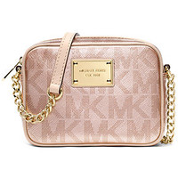 MICHAEL Michael Kors Handbag, Signature Metallic Crossbody