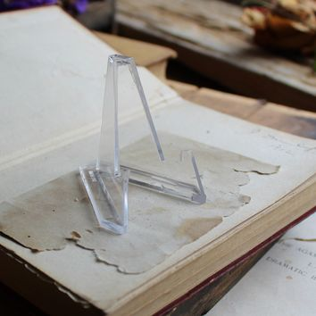 Acrylic Slab Stand for Crystals