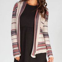 Billabong Pent Up Womens Cardigan Natural  In Sizes