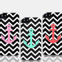 Black Chevron Pattern iPhone Anchor Cases by RexLambo | Society6