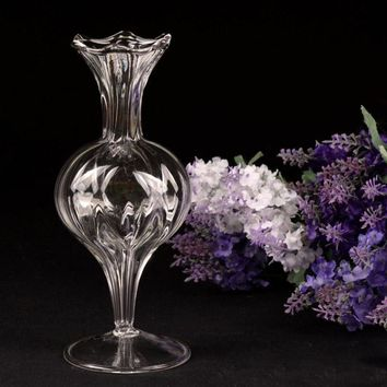 New Crystal European Hydroponic Garden Flower Arrangement Craft Glass Vases