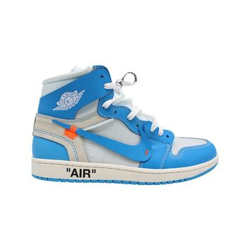 Air Jordan 1 I Men's Retro Off-White UNC