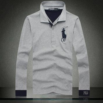 Beauty Ticks Ralph Lauren Polo Lapel Long T M-xxl August-12 01 1282690