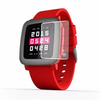 Anti-Scratch Transparent Clear Screen Protector Film Guard For Pebble Time Watch