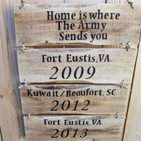 Armed Forces Sign, Rustic Wood Sign, Military Signs, Custom Military Sign, Family Military Sign