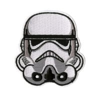 Star Wars Stormtrooper Helmet Iron-On Patch