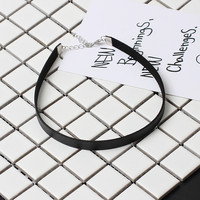 New Arrival Shiny Gift Jewelry Stylish Simple Design Chain Necklace [9377823943]