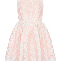 Petite Strappy Lace Prom Dress - Going Out - Clothing - Topshop USA
