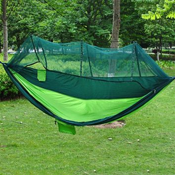 Two Person Covered Tent Hammock Swing Bed