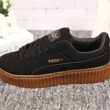Puma Rihanna Creeper Comfort Stylish Fashion Unisex Shoes Thick Crust Couple Shoes Sports Sneakers [9445660935]