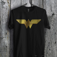 Wonder Woman Symbol - zLi Unisex T- Shirt For Man And Woman / T-Shirt / Custom T-Shirt
