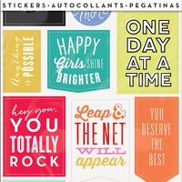 "me & my BIG ideas PPS-55 6-Sheets Create 365 The Happy Planner ""Get It Done"" Stickers"