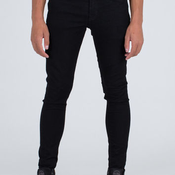 Marad Black Skinny Denim Stretch Jean