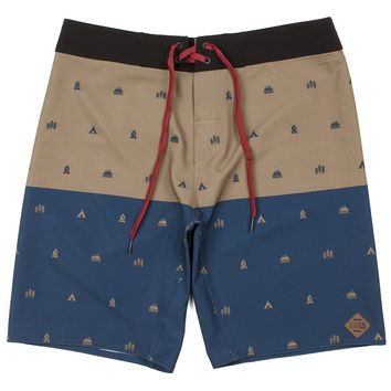 Hippy Tree Legend Trunk Mens Boardshort