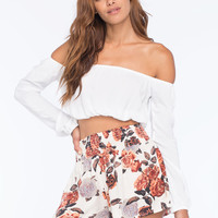 ELEMENT Wildflower Brighton Womens Crop Top | Gypset