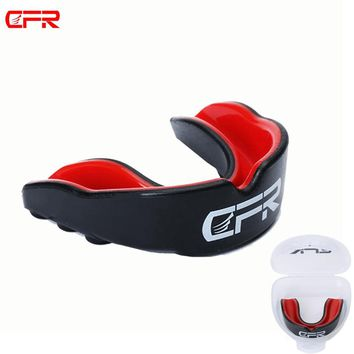 CFR Mouthguard Basketball Football Mouth Guard Teeth Double Side Protect for Boxing MMA Mouth Braces Gum hoops Shield Gear Rugby