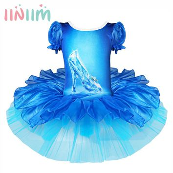 New Classical Ballet Tutu Dancewear 2-10 Years Girls Ballet Clothes Costumes Toddler Leotard Professional Tutus Ballerina Dress