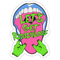 LET´S GET RIDICULOUS en Rock