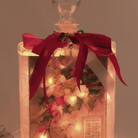 Holiday Perfume Bottle Nightlight ( Night Light )