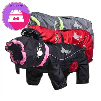 Pet  Clothes Waterproof Dog Jackets Windproof Pets Coat 3m Reflective