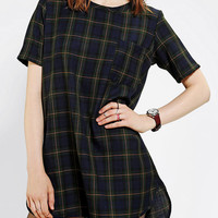 Urban Outfitters - Otis & Maclain Zuma Plaid Tee Dress