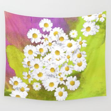 Fresh as a daisy Wall Tapestry by anipani