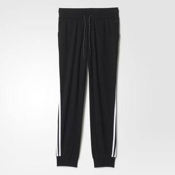 adidas 3-Stripes Track Pants - Black | adidas US