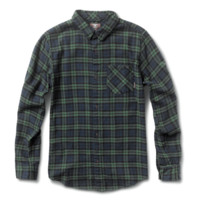 NAVY FOURSTAR PETERBILT TRUJILLO SIGNATURE MEN'S LONG SLEEVE FLANNEL