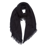 Soft Textured Scarf (Black)