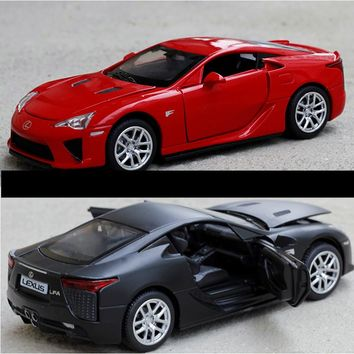 Double Horses 1:32 Collection Toys Car Styling LEXUS LFA Model Alloy Supercar Model The Fast and the Furious toy gift
