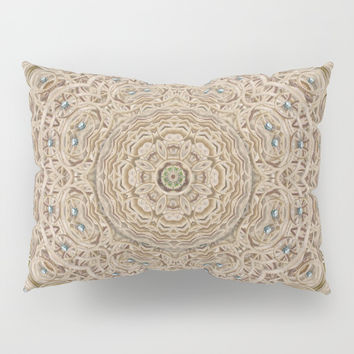 Silent in the forest of  wood pop art Pillow Sham by Pepita Selles
