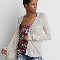 AEO Marled Cardigan, Natural
