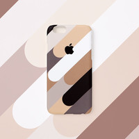 iPhone 6s case - Coffee Mix - iPhone 5s case, iPhone 6s case, iPhone 6+ case, Good Luck Gold Sticker, non-glossy hard shell M25