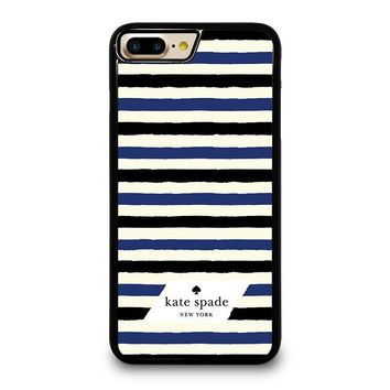 KATE SPADE IN STRIPES iPhone 4/4S 5/5S/SE 5C 6/6S 7 8 Plus X Case