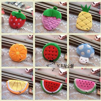 Backpack Watermelon Strawberry Card Holders