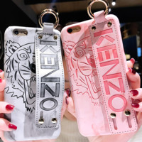 Gucci kenzo big-name apple 8plus new soft silicone 6s model x European and European 7 atmosphere iphone6 personality fashionable female