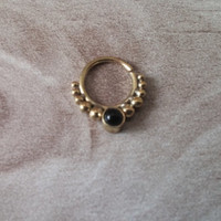 Septum Ring - Septum Jewelry - Septum Piercing - Septum Cuff - Indian Nose Ring - Indian Septum Ring - For Pierced Nose - Nose Jewelry