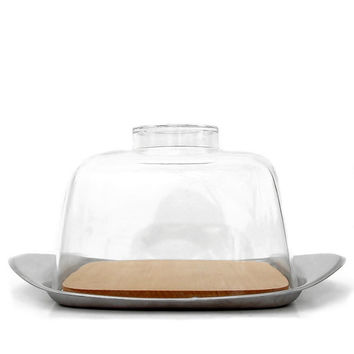 Fraser's WMF Stainless Cheese Dome