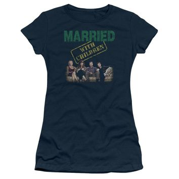 Married With Children - Vintage Bundys Short Sleeve Junior Sheer