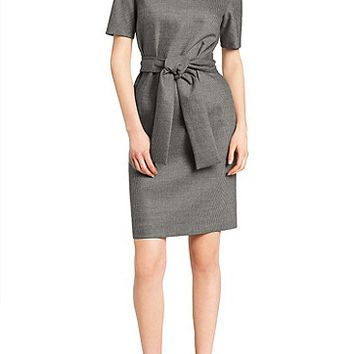 'Diton' | Stretch Cashmere Wool Blend Dress