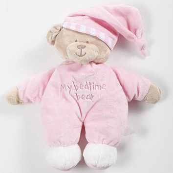 High Quality Cute Bear Toys Baby Kids Appease Baby Sleep Plush Toys Kids Briquedos Boy Girl Birthday Gifts