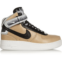 Nike - + Riccardo Tisci Air Force 1 leather sneakers
