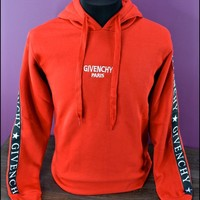 NEW GIVENCHY PARIS SWEATER - HOODIE SUPER FASHION RED TEE size-S,M,L,XL,XXL